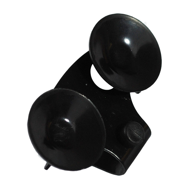 Replacement windshield suction cup mount